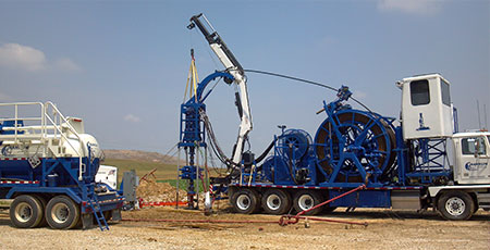 Franklin Well Services, LLC. Coil Tubing Equipment